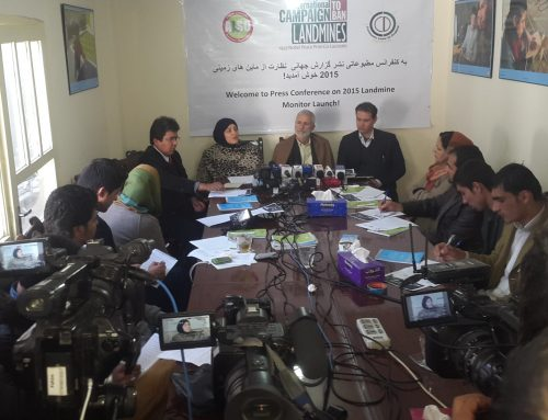 Press Conference on Landmine Monitor Launch at ALSO office
