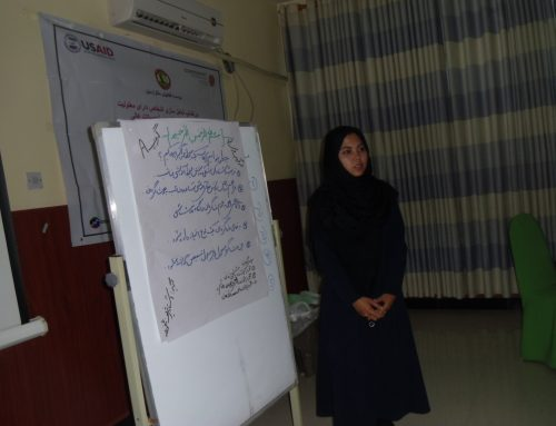 Disability Inclusion in Primary and Higher Education Workshop in Balkh