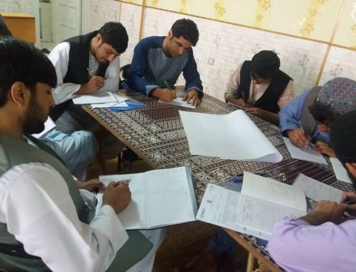 Disability Inclusion in Primary and Higher Education Workshop in Kandahar province