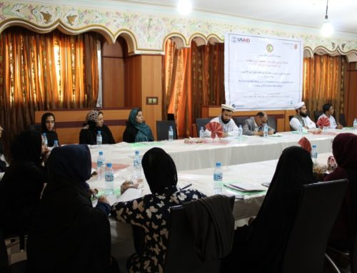 Disability Inclusion in Primary and Higher Education Workshop in Herat