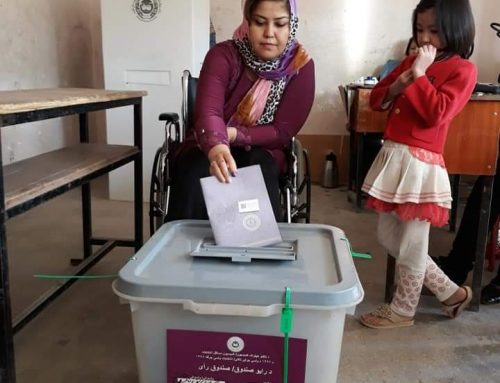 Persons with disabilities, participation in the elections