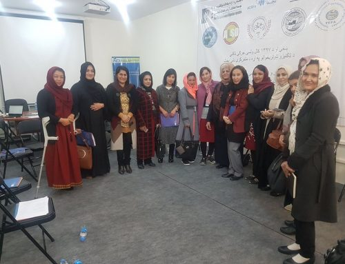 Women Focus Group Discussion (FGO) in National Democracy Institute office:
