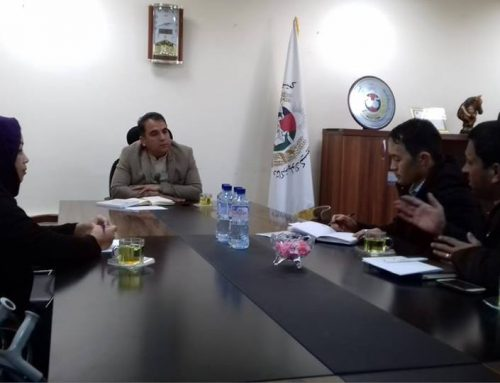 Meeting with Deputy Operation of IEC Secretariat