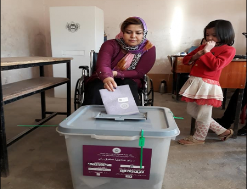 Barriers to and Opportunities for Accessible Elections in Afghanistan