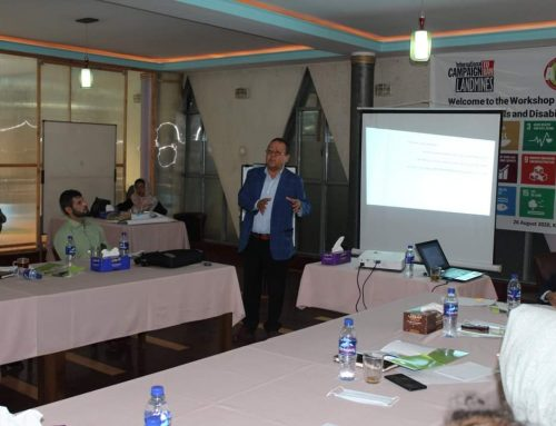 Workshop on Sustainable Development Goals (SDGs) and Disability in Afghanistan